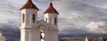 Hoteles en Sucre