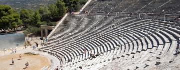 Hotels in Ancient Epidauros