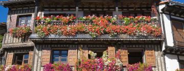 Hoteles en La Alberca