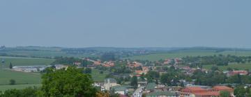 Hoteles en Podhájska