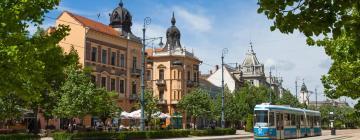 Pezsgőfürdős hotelek Debrecenben