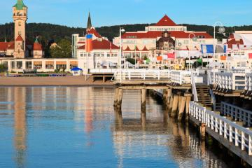 Sopot: Car hire in 2 pick-up locations