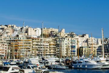 Piraeus: Car hire in 5 pick-up locations
