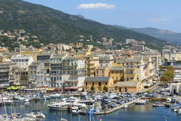 Bastia: Car hire in 2 pick-up locations