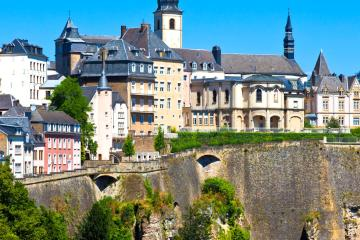 Luxembourg: Car hire in 4 pick-up locations