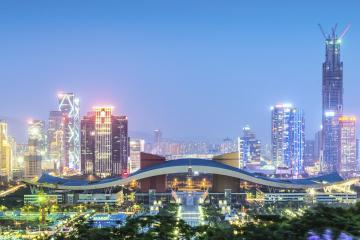 Shenzhen: Car rentals in 8 pickup locations