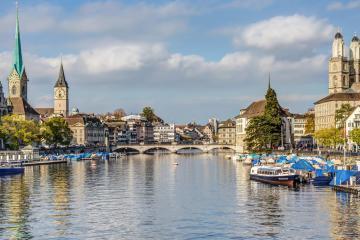 Zürich: 9 Abholorte für Mietwagen