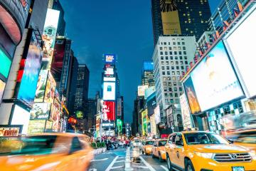 New York: Car hire in 24 pick-up locations