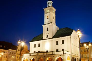 Gliwice: Car hire in 2 pick-up locations