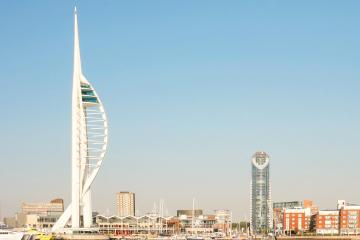 Portsmouth: Car hire in 5 pick-up locations