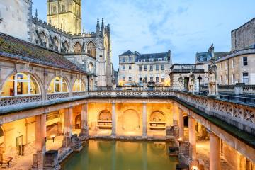 Bath: Car hire in 3 pick-up locations