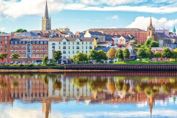 Derry Londonderry: Car rentals in 2 pickup locations
