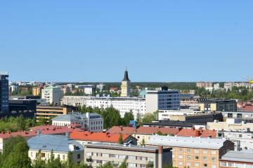 Oulu: Autonvuokraus, 5 noutopaikkaa