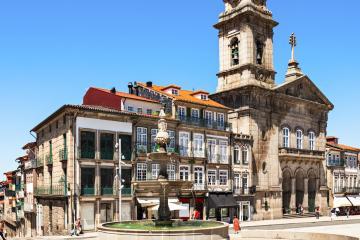 Guimarães: Car hire in 1 pickup location
