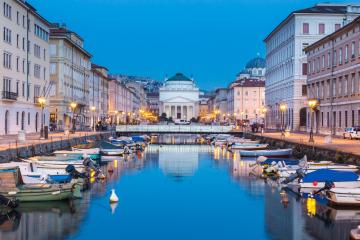 Trieste: Car rentals in 4 pickup locations