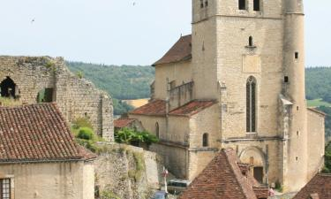 Self-Catering Accommodations in Saint-Cirq-Lapopie
