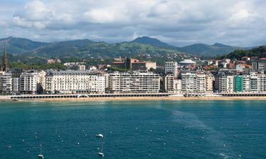San Sebastián'daki daireler