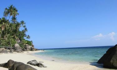 Cabins in Tioman Island