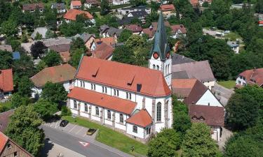 Hotels with Parking in Unterkirnach