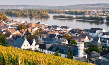 Hoteles en Rüdesheim am Rhein