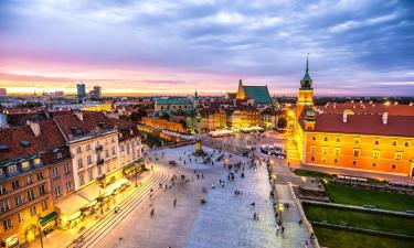 Отели с парковкой в городе Варшава