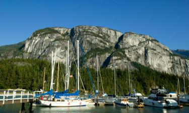 Hotéis que aceitam pets em Squamish