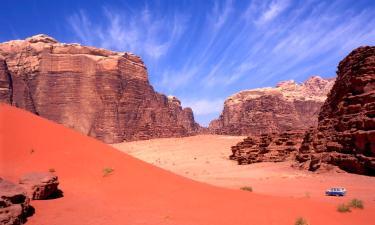 Luxury Tents in Wadi Rum