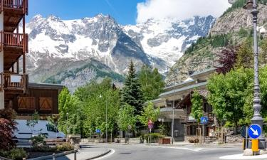 Apartments in Courmayeur