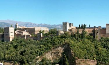 Hotelek Granadában