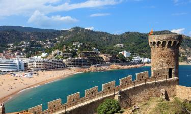 Hotels in Tossa de Mar