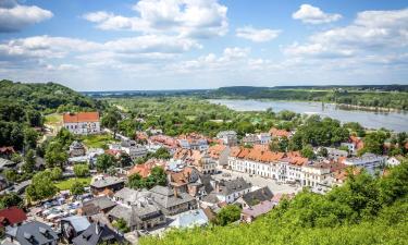 Hotele w Kazimierzu Dolnym