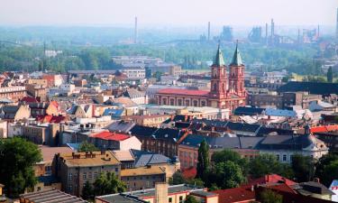 Hotéis com Jacuzzi em Ostrava