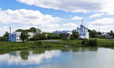 Отели с парковкой в городе Белозёрск