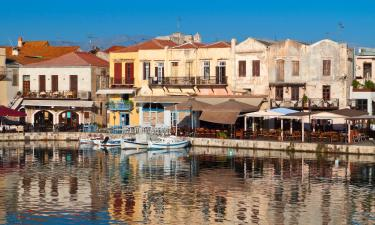 Accommodations in Rethymno