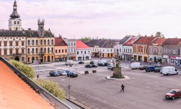 Hotels mit Parkplatz in Hořice