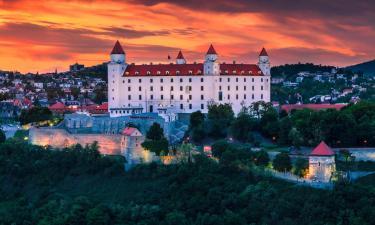 Hotely v Bratislave