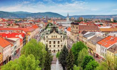 Hotely v Košiciach