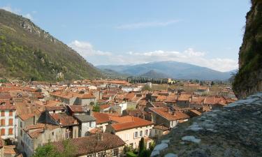 Hôtels à Foix