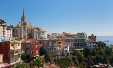 Hostales y pensiones en Valparaíso