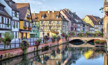 Hoteles en Colmar