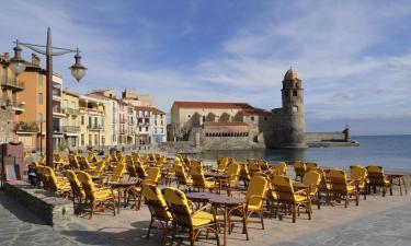 Apartments in Collioure