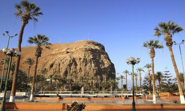 Hostales y pensiones en Arica