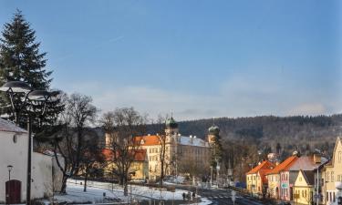 Hotely v Mníšku pod Brdy