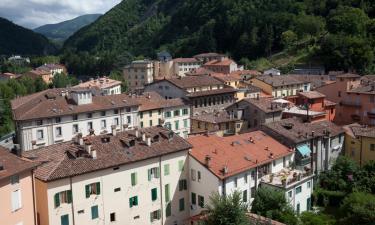 Hotell med parkering i Porretta Terme