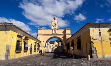 Hoteles económicos en Antigua Guatemala