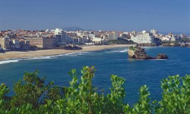Hoteles en Biarritz