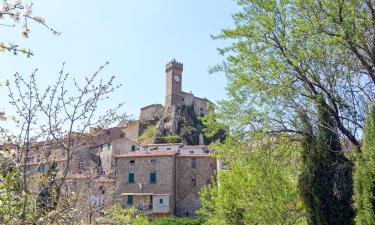 Husdjursvänliga hotell i Roccatederighi
