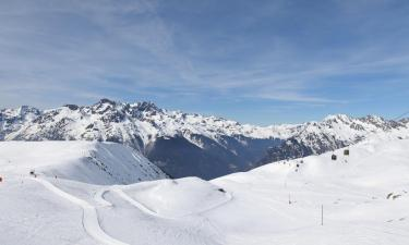Cabins in L'Alpe-d'Huez