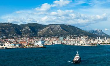 Hotels with Parking in Toulon