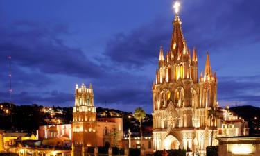 Hoteles económicos en San Miguel de Allende